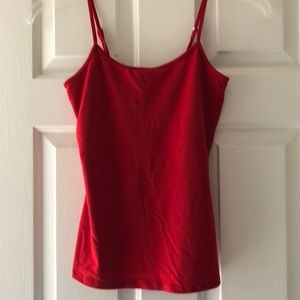 Red camisole WHBM